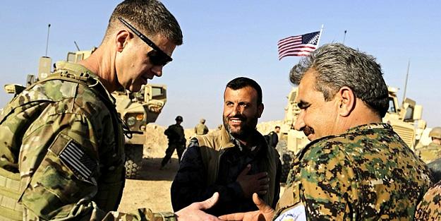 Skandal ziyaret! ABD'li komutanlar Menbiç'te toplantı yaptı