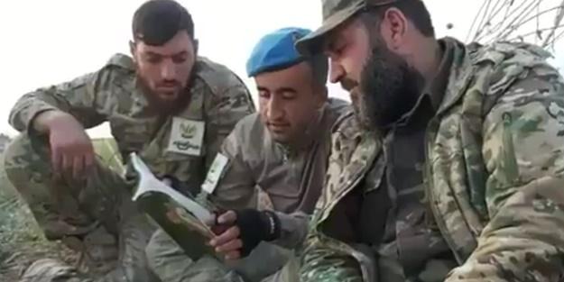 SMO ile Mehmetçik dinlenme sırasında birlikte Kur'an-ı Kerim okudu