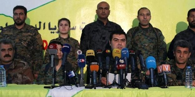 YPG'den 'çekilme' açıklaması!