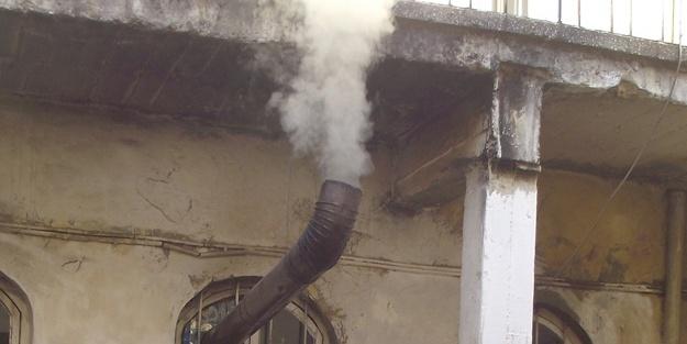 Sobadan sızan gaz az kalsın aileyi yok ediyordu!