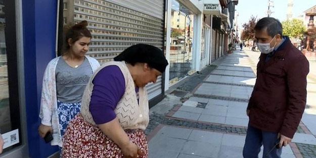 Sokakta yakalanan kadından şoke eden bahane