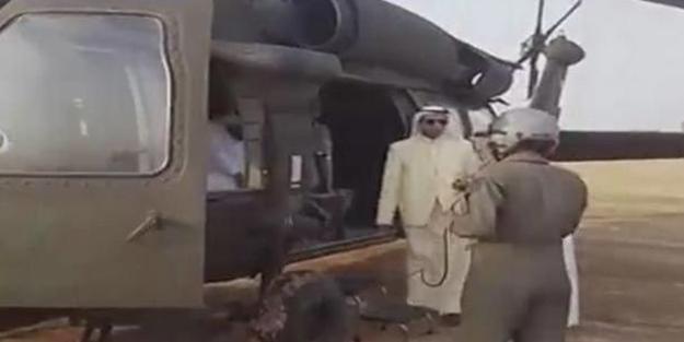 Şoke eden iddia: Suudi prensin helikopteri füzeyle vuruldu