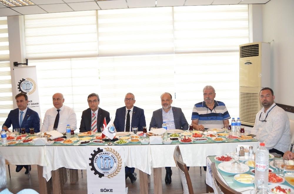 Söke Ticaret Odası'ndan Basına 24 Temmuz Kahvaltısı