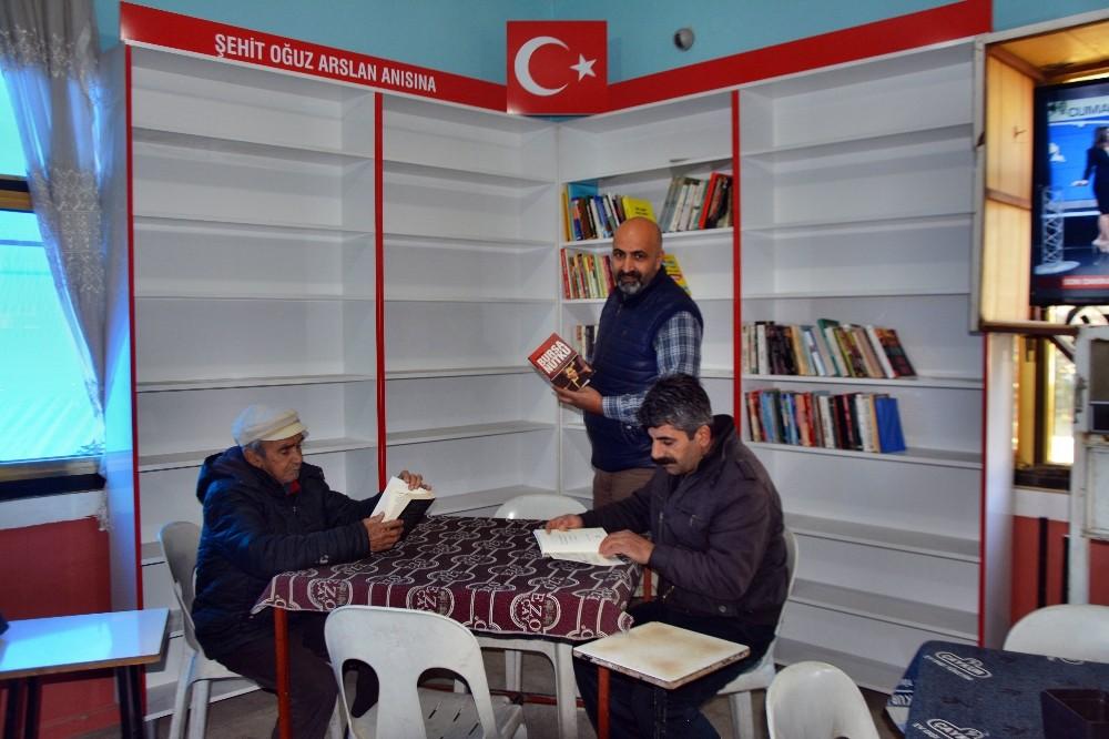 Sökeli kahveci şehidin adına kütüphane oluşturdu