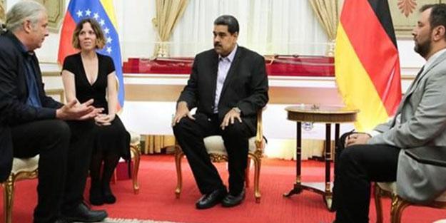Sol Partili Hunko Maduro ile görüştü! Almanya karıştı