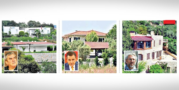 'Sol'un kaçak villa saltanatı