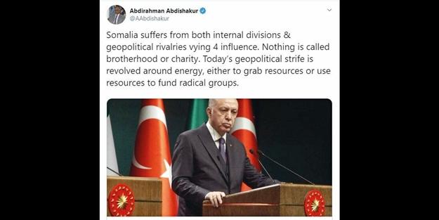 Somali halkı Türkiye'yi savundu!