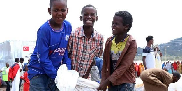 Somali'ye ne kadar hibe gönderildi?