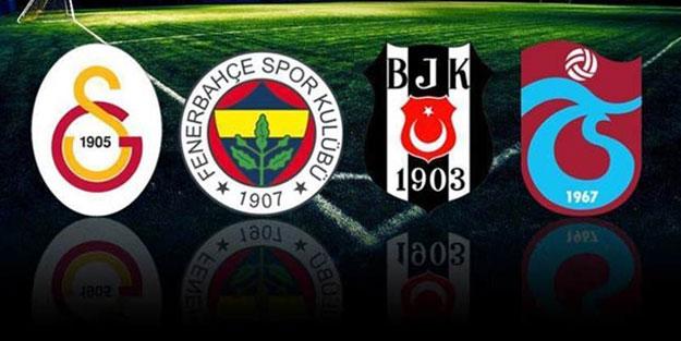 4 büyükler arasında Galatasaray sonuncu oldu