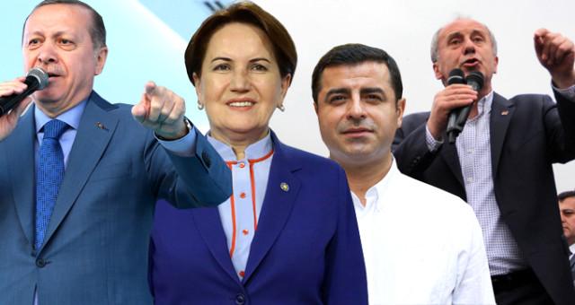 Son anket açıklandı! Erdoğan ilk turda alıyor