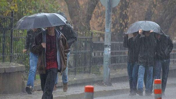 İstanbul için şiddetli yağmur uyarısı