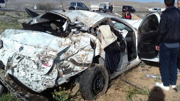 Malatya'da korkunç kaza! Ölü ve yaralılar var