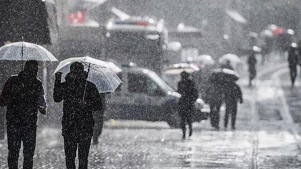 Meteoroloji'den şiddetli yağmur uyarısı geldi