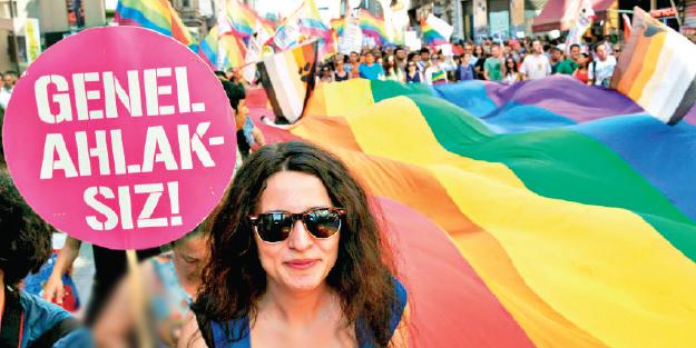 Sözde edebiyatçılardan LGBTİ'li azgınlara destek