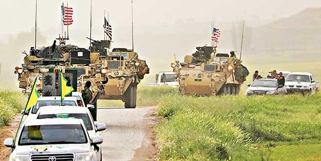 Sözde müttefik ABD'den PYD'ye 20 bin tır silah