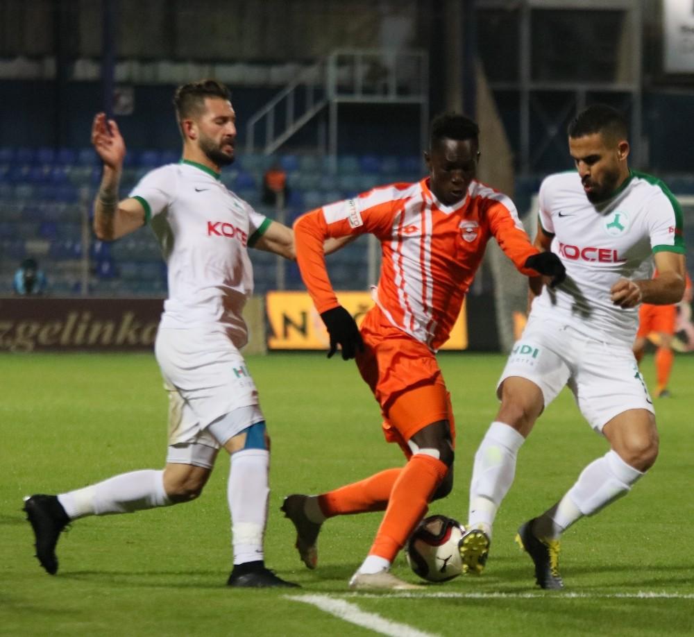 Spor Toto 1. Lig: Adanaspor: 1 - Giresunspor: 1