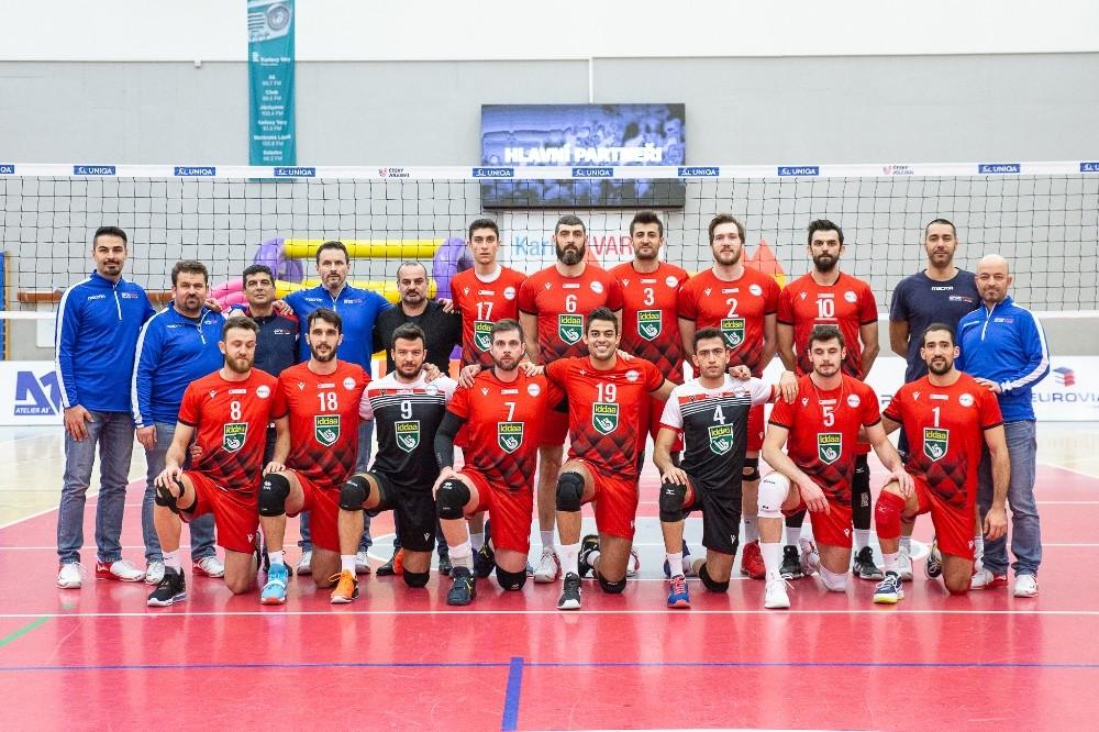 Spor Toto, Challenge Kupası'nda altın setle yarı finalde