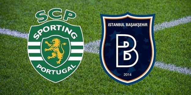 Sporting Lizbon Başakşehir maçı ilk 11'leri