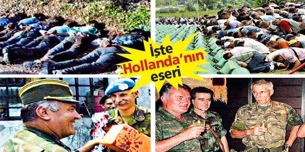 Srebrenitsa katliamının faili o 'alçak ülke'!