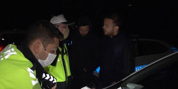 Stajyer ehliyetiyle yakalanan alkollü adamın savunması pes dedirtti