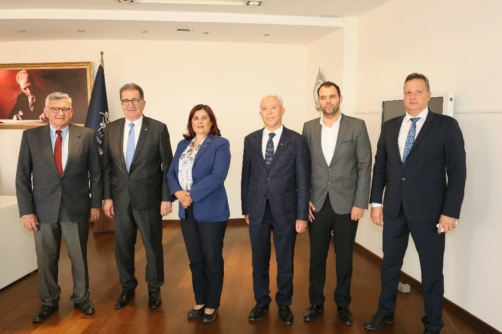 STB yönetimi, Başkan Çerçioğlu'nu ziyaret etti