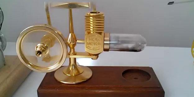 Stirling motoru bugün bile büyük dikkat çekiyor