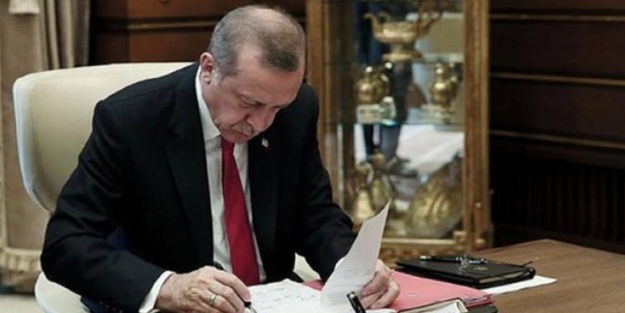 Başkan Erdoğan'ın atama kararları Resmi Gazete'de yayımlandı