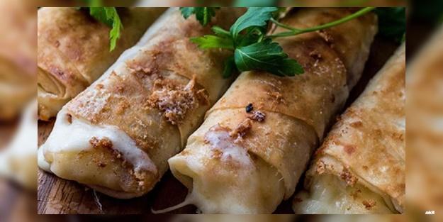Sucuklu paçanga böreği nasıl yapılır? Pratik ve lezzetli paçanga böreği tarifi