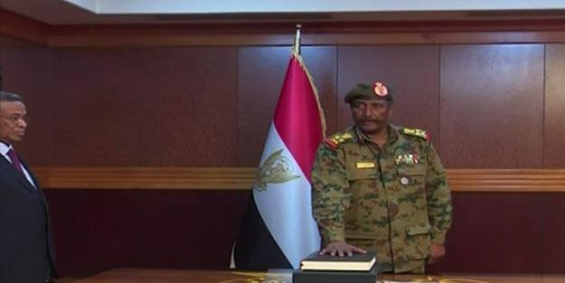 Sudan'da Askeri Geçiş Konseyi'nin yeni başkanı belli oldu