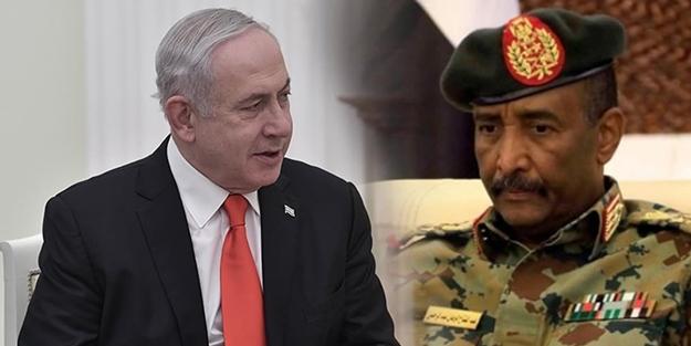Sudan'da 'İsrail' krizi! Darbeci el Burhan'ın Netanyahu ile görüşmesi istifa getirdi