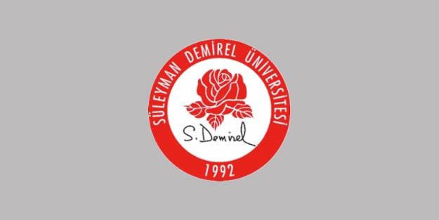 Süleyman Demirel Üniversitesi öğretim ve araştırma görevlisi alımı 2019