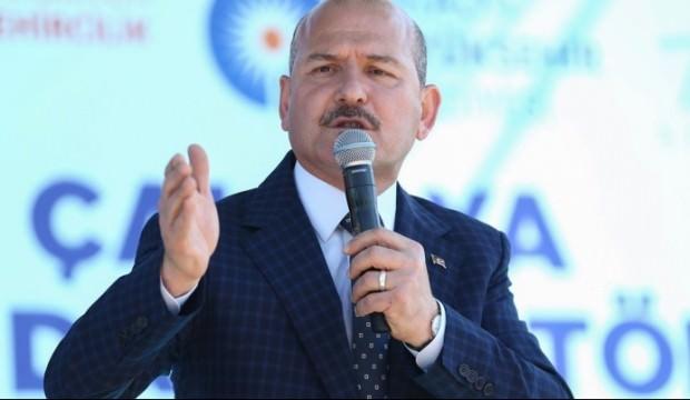 Süleyman Soylu'dan Alper Taş'a: Apo'nun uşağı alçak