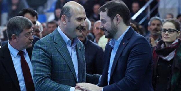 Süleyman Soylu'dan Berat Albayrak'a destek