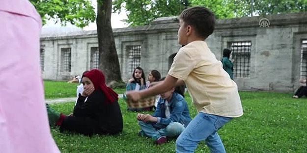 Süleymaniye çocuk sesleriyle şenlendi