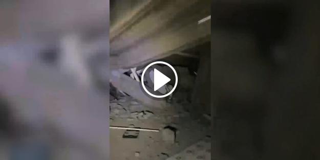 Süleymaniye'de bir mahalleden korkunç görüntüler