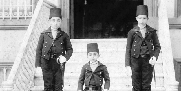 Sultan 2. Abdülhamit'in aile albümü