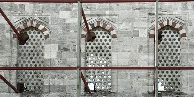 Sultanahmet Camii'ndeki görüntüye dair açıklama geldi