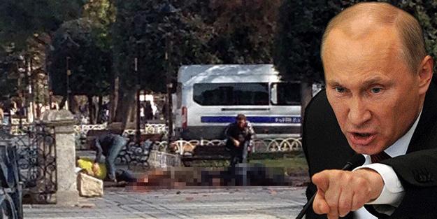 Sultanahmet saldırısında şüpheli Putin!