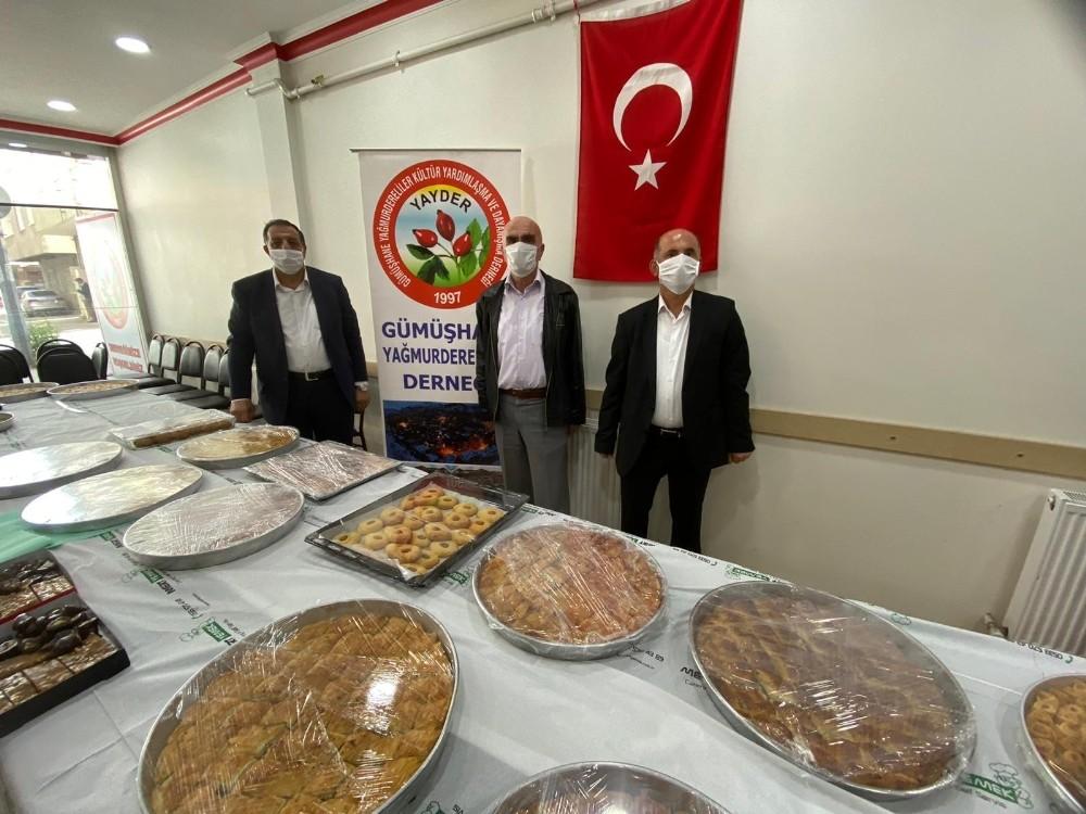 Sultanbeyli'nde sağlıkçılara baklavalı destek