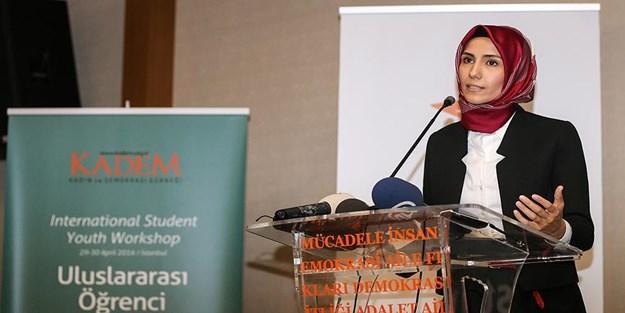 Sümeyye Erdoğan: İslamofobi dinimizi korku nesnesi haline getirmektedir