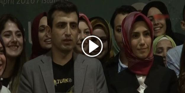 Sümeyye Erdoğan, nişanlısıyla ilk kez görüntülendi! - VİDEO
