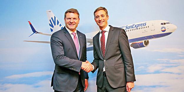 SunExpress rekora uçtu1.4 milyar euro gelir elde etti