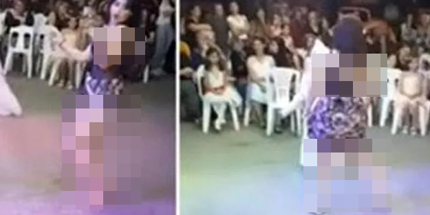 Sünnet düğünündeki rezalet görüntü sonrası haklarında soruşturma başlatılan dansözler ifade verdi