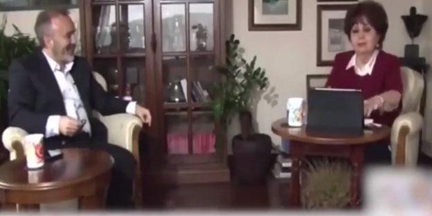 Sunucu Arslan Cumhurbaşkanı Erdoğan'ın gönderdiği kolanyayı döküp laf etti!