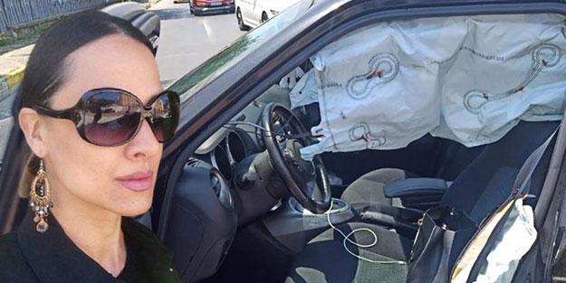 Sunucu Zeynep Tandoğan ölümden döndü