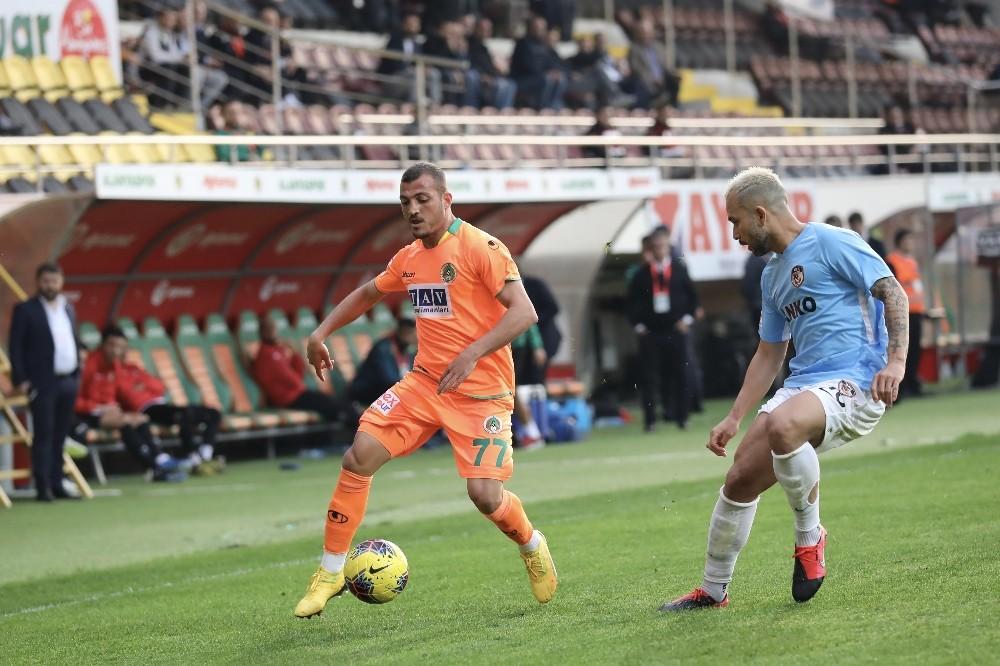 Süper Lig: Alanyaspor: 1 - Gaziantep FK: 0 (Maç sonucu)