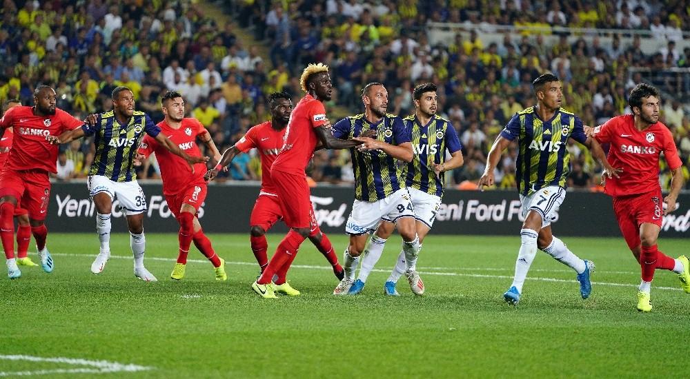 Süper Lig: Fenerbahçe: 5 - Gazişehir Gaziantep: 0 (Maç sonucu)