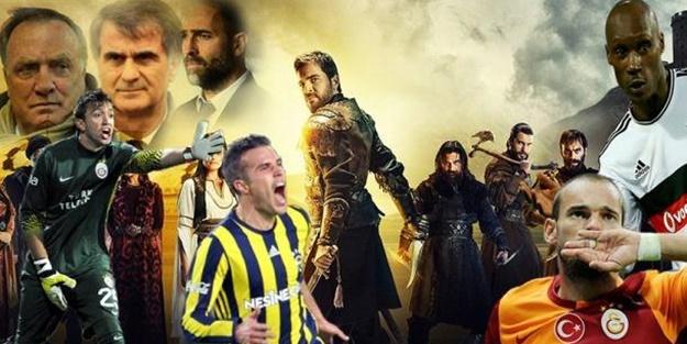 Süper Lig futbolcuları Diriliş'te oynasaydı...