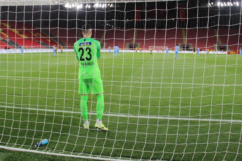 Süper Lig: Göztepe: 0 - Çaykur Rizespor: 0 (İlk yarı)