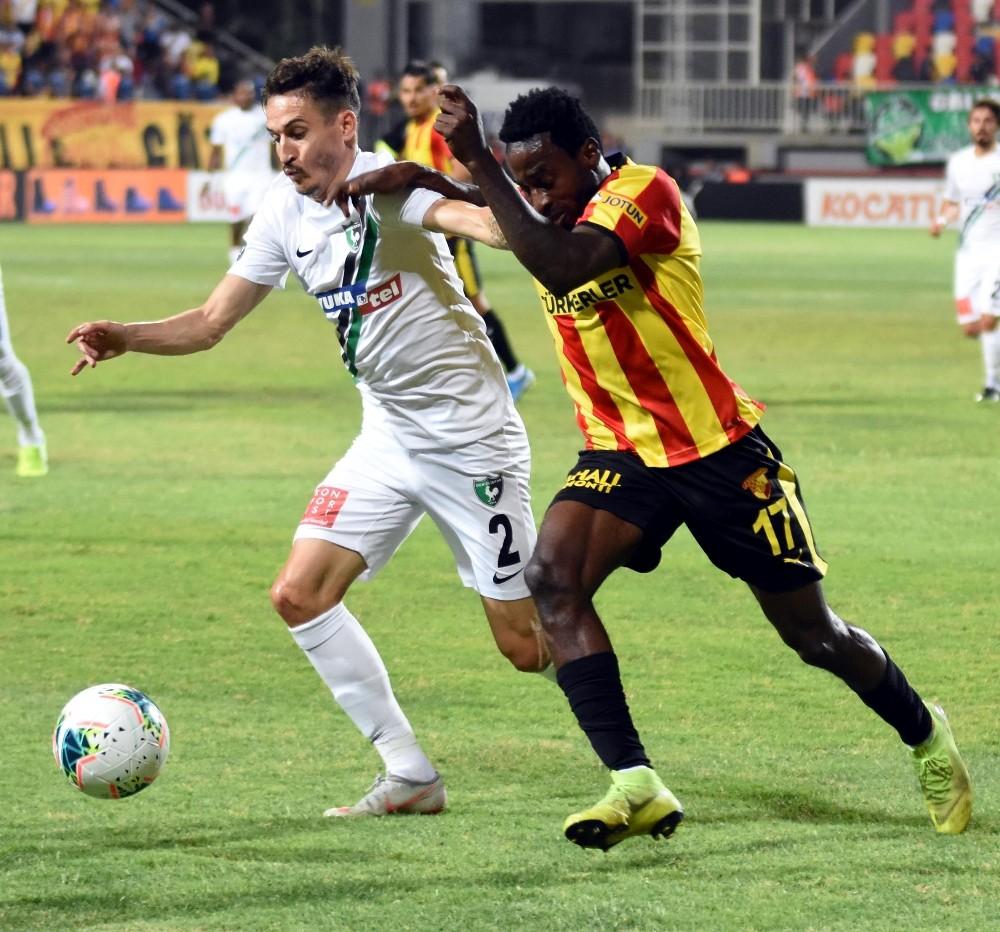 Süper Lig: Göztepe: 0 - Yukatel Denizlispor: 0 (İlk yarı)